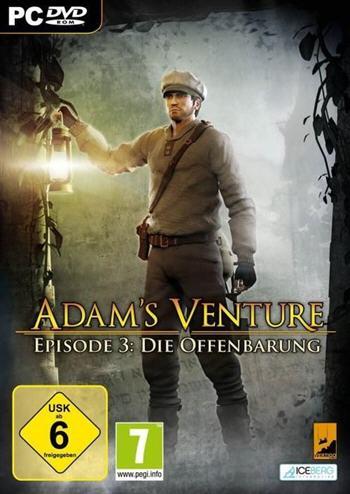 Adam's Venture Episode 3 Deutsche  Texte, Untertitel, Menüs, Videos, Stimmen / Sprachausgabe Cover