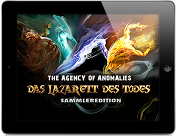 The Agency of Anomalies 1 - Das Lazarett des Todes (iPhone & iPad) Lösung, Saves, Review, Demo, Trailer, Sample, Screenshots, Patch, News, Preview, Interview, etc.