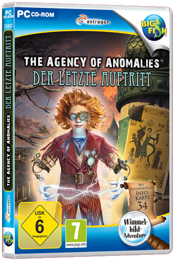 The Agency of Anomalies 3 - Der letzte Auftritt Lösung, Saves, Review, Demo, Trailer, Sample, Screenshots, Patch, News, Preview, Interview, etc.