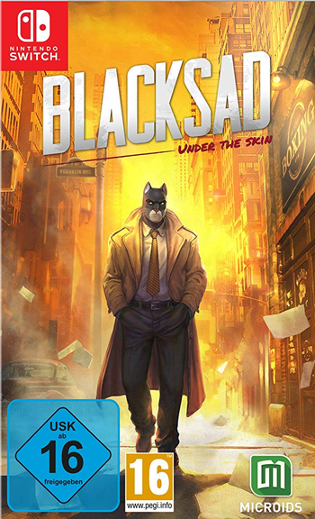 Blacksad - Under the Skin (Nintendo Switch)