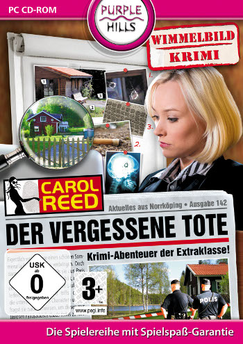 Carol Reed 03 - Der vergessene Tote Lösung, Saves, Review, Demo, Trailer, Sample, Screenshots, Patch, News, Preview, Interview, etc.