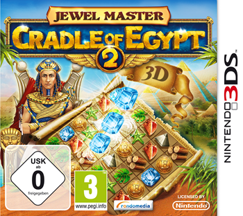 Jewel Master - Cradle of Egypt 2 (Nintendo 3DS) Lösung, Saves, Review, Demo, Trailer, Sample, Screenshots, Patch, News, Preview, Interview, etc.