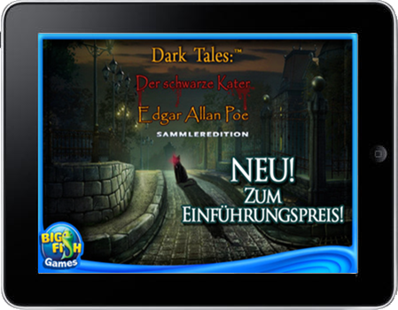 Dark Tales 02 - Der schwarze Kater (iPad & iPhone) Lösung, Saves, Review, Demo, Trailer, Sample, Screenshots, Patch, News, Preview, Interview, etc.
