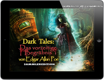 Dark Tales 03 - Das vorzeitige Begräbnis (iPhone & iPad) Lösung, Saves, Review, Demo, Trailer, Sample, Screenshots, Patch, News, Preview, Interview, etc.