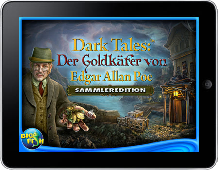 Dark Tales 04 - Der goldene Käfer (iPhone & iPad) Lösung, Saves, Review, Demo, Trailer, Sample, Screenshots, Patch, News, Preview, Interview, etc.