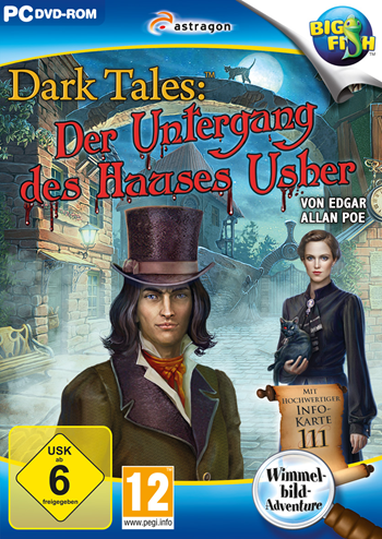 Dark Tales 06 - Der Untergang des Hauses Usher Lösung, Saves, Review, Demo, Trailer, Sample, Screenshots, Patch, News, Preview, Interview, etc.