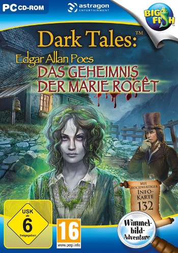 Dark Tales 07 - Das Geheimnis der Marie Rogêt Lösung, Saves, Review, Demo, Trailer, Sample, Screenshots, Patch, News, Preview, Interview, etc.