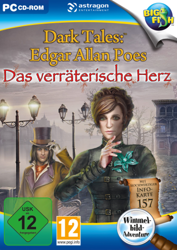 Dark Tales 08 - Das verräterische Herz Lösung, Saves, Review, Demo, Trailer, Sample, Screenshots, Patch, News, Preview, Interview, etc.