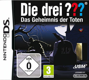 Die drei ??? - Das Geheimnis der Toten (Nintendo DS) Lösung, Saves, Review, Demo, Trailer, Sample, Screenshots, Patch, News, Preview, Interview, etc.
