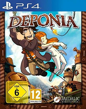 Deponia 1 (PlayStation 4)