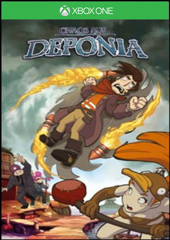 Deponia 2 - Chaos auf Deponia (XBox one)