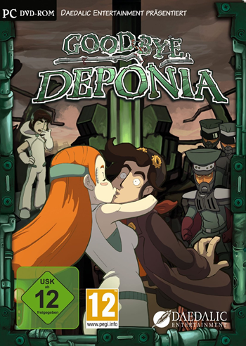 Deponia 3 - Goodbye Deponia Lösung, Saves, Review, Demo, Trailer, Sample, Screenshots, Patch, News, Preview, Interview, etc.