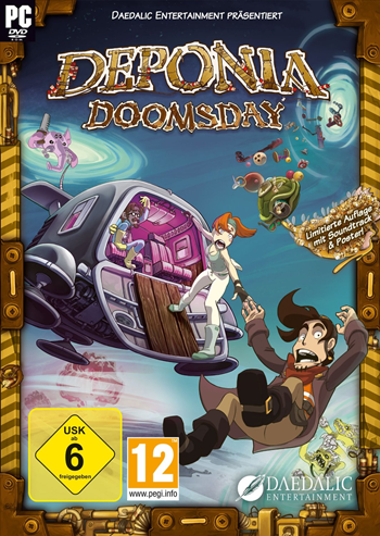Deponia 4 - Doomsday Lösung, Saves, Review, Demo, Trailer, Sample, Screenshots, Patch, News, Preview, Interview, etc.