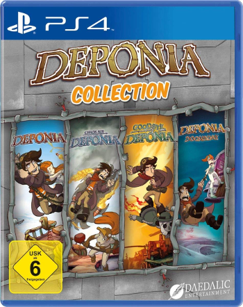 Deponia Collection (PlayStation 4)