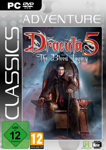 Dracula 5 - The Blood Legacy (Neuauflage 2014)