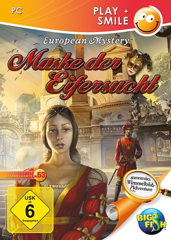 European Mystery 2 - Maske der Eifersucht Lösung, Saves, Review, Demo, Trailer, Sample, Screenshots, Patch, News, Preview, Interview, etc.