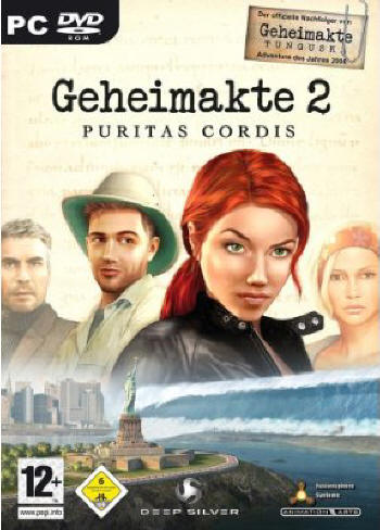 Geheimakte 2 - Puritas Cordis Lösung, Saves, Review, Demo, Trailer, Sample, Screenshots, Patch, News, Preview, Interview, etc.