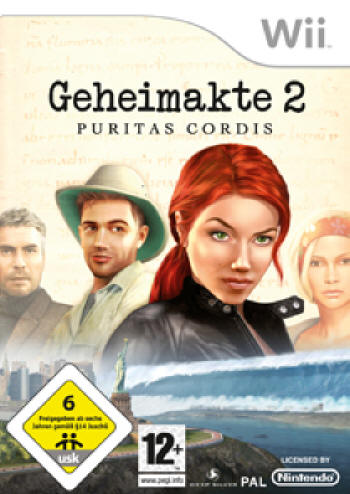 Geheimakte 2 - Puritas Cordis (Wii) Lösung, Saves, Review, Demo, Trailer, Sample, Screenshots, Patch, News, Preview, Interview, etc.