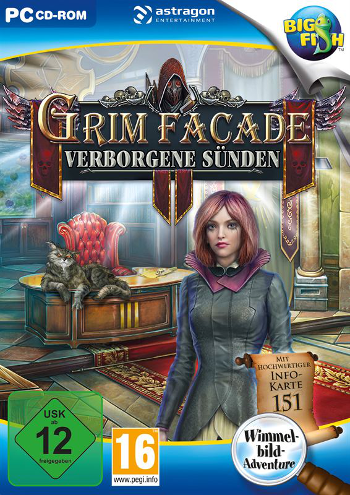 Grim Facade 06 - Verborgene Sünden Lösung, Saves, Review, Demo, Trailer, Sample, Screenshots, Patch, News, Preview, Interview, etc.