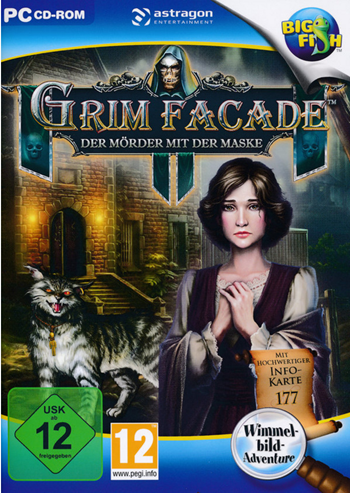 Grim Facade 07 - Der Mörder mit der Maske Lösung, Saves, Review, Demo, Trailer, Sample, Screenshots, Patch, News, Preview, Interview, etc.