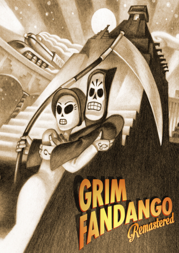 Grim Fandango Remastered Lösung, Saves, Review, Demo, Trailer, Sample, Screenshots, Patch, News, Preview, Interview, etc.