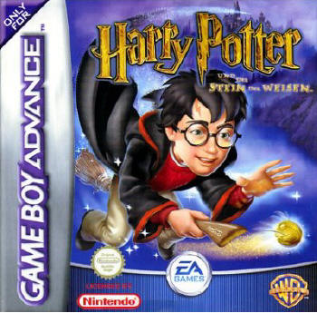Harry Potter 1 - Der Stein der Weisen (GameBoy Advance)