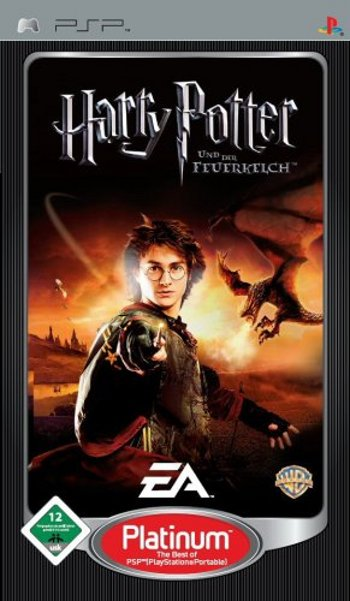 Harry Potter 4 - Der Feuerkelch (Platinum Edition) (PSP)