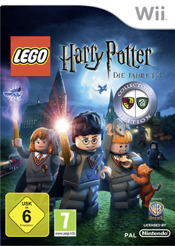 Lego Harry Potter - Die Jahre 1 - 4 (Collector's Edition) (Nintendo Wii)