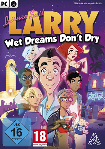 Leisure Suit Larry 9 - Wet Dreams Don't Dry Lösung, Saves, Review, Demo, Trailer, Sample, Screenshots, Patch, News, Preview, Interview, etc.