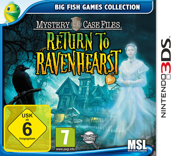 Mystery Case Files 05 - Rückkehr nach Ravenhearst (Nintendo 3 DS) Lösung, Saves, Review, Demo, Trailer, Sample, Screenshots, Patch, News, Preview, Interview, etc.