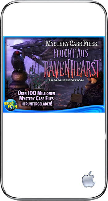 Mystery Case Files 08 - Flucht aus Ravenhearst (iPhone)