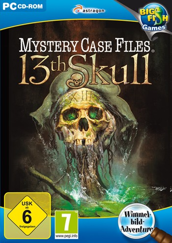 Mystery Case Files 07 - 13th Skull Lösung, Saves, Review, Demo, Trailer, Sample, Screenshots, Patch, News, Preview, Interview, etc.