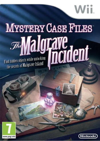 Mystery Case Files - Der Fall Malgrave (Nintendo Wii)