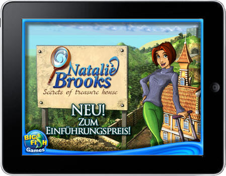Natalie Brooks 1 - Secrets of Treasure House (iPad)