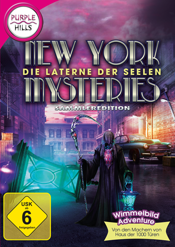 New York Mysteries 3 - Die Laterne der Seelen Lösung, Saves, Review, Demo, Trailer, Sample, Screenshots, Patch, News, Preview, Interview, etc.