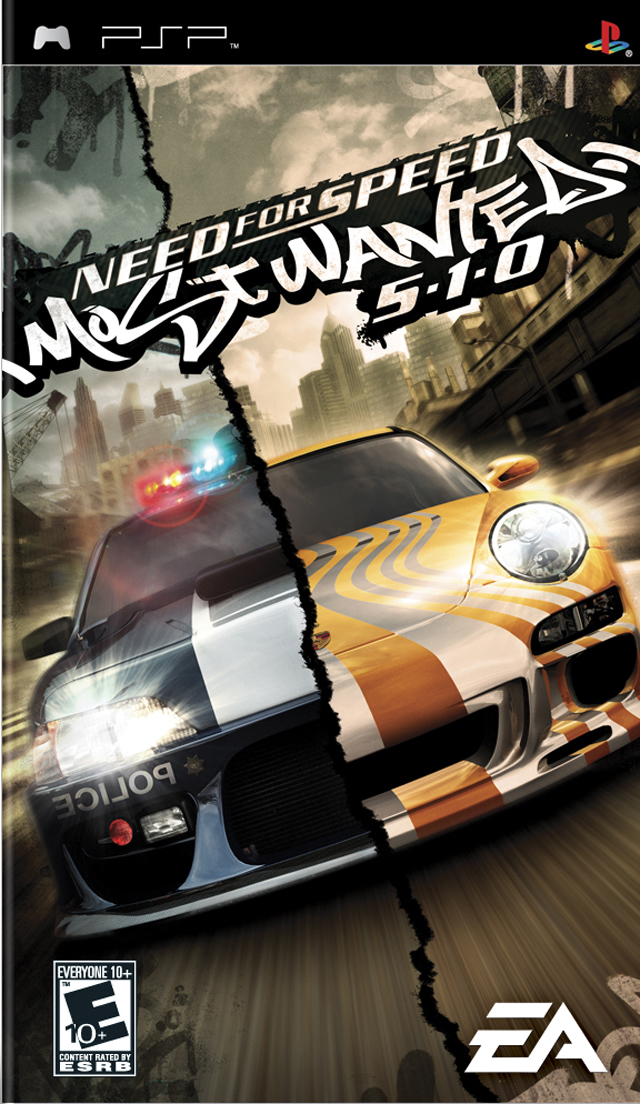 Need For Speed 09 - Most Wanted (PSP)