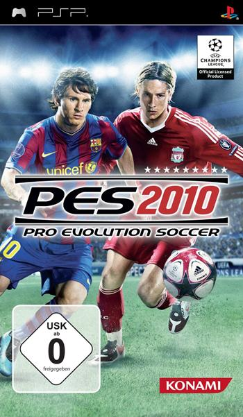 PES 2010 - Pro Evolution Soccer (PSP) L�sung, Saves, Review, Demo, Trailer, Sample, Screenshots, Patch, News, Preview, Interview, etc.