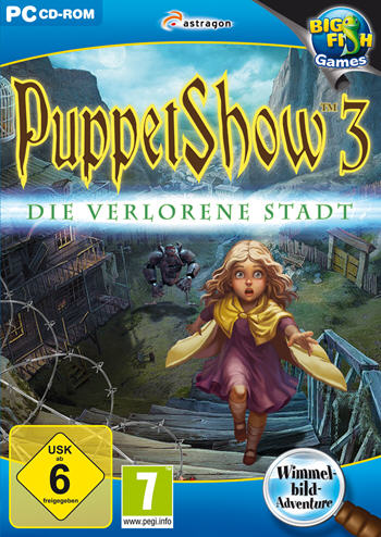 PuppetShow 03 - Die verlorene Stadt Lösung, Saves, Review, Demo, Trailer, Sample, Screenshots, Patch, News, Preview, Interview, etc.