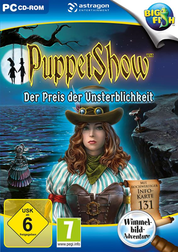 PuppetShow 07 - Der Preis der Unsterblichkeit Lösung, Saves, Review, Demo, Trailer, Sample, Screenshots, Patch, News, Preview, Interview, etc.