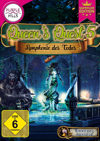Queen's Quest 5 - Symphonie des Todes Lösung, Saves, Review, Demo, Trailer, Sample, Screenshots, Patch, News, Preview, Interview, etc.