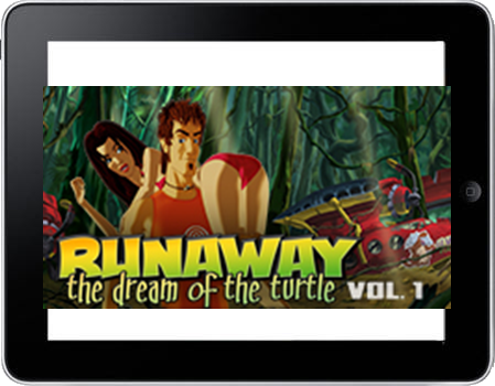 Runaway 2 - The dream of the turtle (iPhone & iPad) Lösung, Saves, Review, Demo, Trailer, Sample, Screenshots, Patch, News, Preview, Interview, etc.