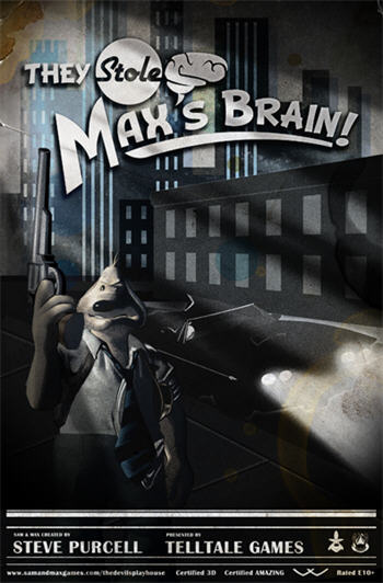 Sam & Max Season 3 - Episode 3 - The Stole Max's Brain (iPad) (on hold)