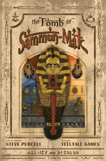 Sam & Max Season 3 - Episode 2 - The Tomb of Sammun-Mak (iPad) (on hold)