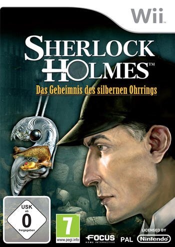 Sherlock Holmes 2 - Das Geheimnis des silbernen Ohrrings (Nintendo Wii) 