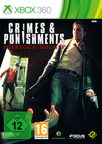 Sherlock Holmes 7 - Crimes and Punishments (XBox 360)