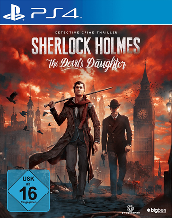 Sherlock Holmes 8 - The Devil's Daughter (PlayStation 4)