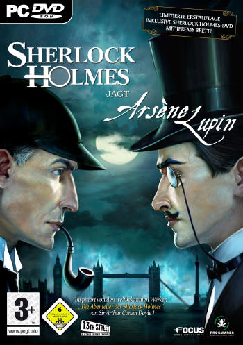 Sherlock Holmes 4 - Sherlock Holmes vs. Arsene Lupin  Lösung, Saves, Review, Demo, Trailer, Sample, Screenshots, Patch, News, Preview, Interview, etc.