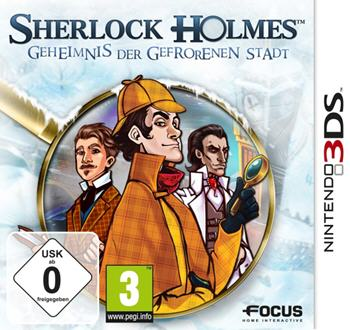 Sherlock Holmes - Das Geheimnis der gefrorenen Stadt (Nintendo 3DS) Lösung, Saves, Review, Demo, Trailer, Sample, Screenshots, Patch, News, Preview, Interview, etc.