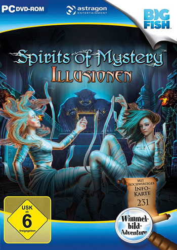 Spirits of Mystery 08 - Illusionen Lösung, Saves, Review, Demo, Trailer, Sample, Screenshots, Patch, News, Preview, Interview, etc.