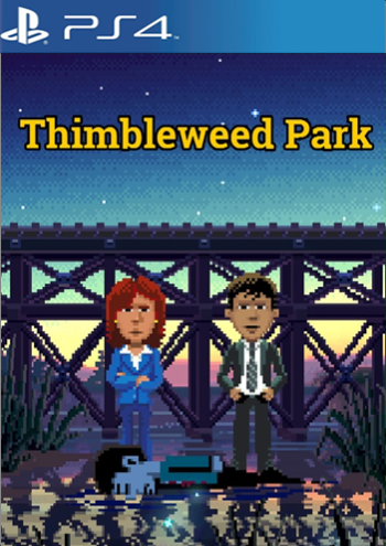 Thimbleweed Park (PlayStation 4)